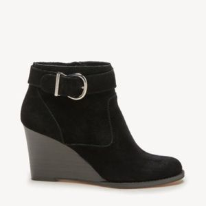 Sole Society Peytal Ankle Boot Wedge Heel
